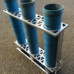 MK3 150mm Rack w/tubes