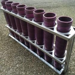 PyroQuip MK3 75mm Mortar Rack w/tubes